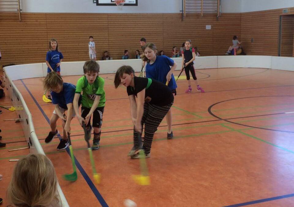 Floorballcup der Grundschulen aus dem Kreis Schleswig-Flensburg am 22. April 2018