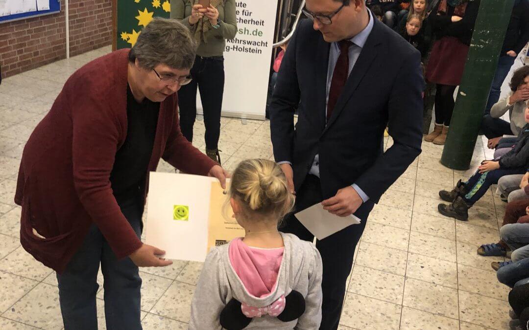 """Preisverleihung """"Sicherheit durch Sichtbarkeit"""" der Landesverkehrswacht Schleswig-Holstein e.V."""